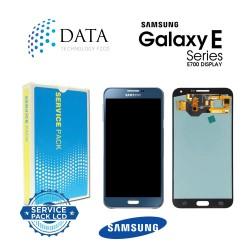 Samsung SM-E700 Galaxy E7 -LCD Display + Touch Screen - Blue - GH97-17227D