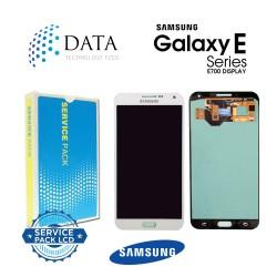 Samsung SM-E700 Galaxy E7 -LCD Display + Touch Screen - White - GH97-17227A