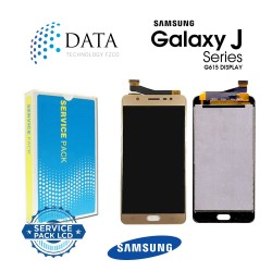Samsung SM-G615 Galaxy J7 Max -LCD Display + Touch Screen - Gold - GH96-10965A