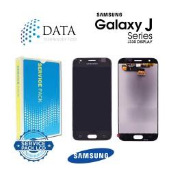 Samsung Galaxy J3 2017 (SM-J330F) -LCD Display + Touch Screen Black GH96-10969A