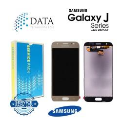 Samsung Galaxy J3 2017 (SM-J330F) -LCD Display + Touch Screen Gold GH96-10990A