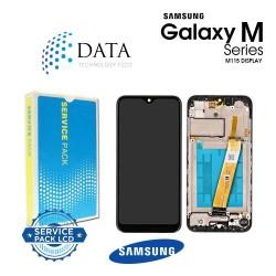 Samsung Galaxy M11 (SM-M115F) -LCD Display + Touch Screen Black GH81-18736A