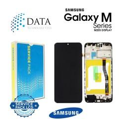 Samsung Galaxy M20 (SM-M205F) -LCD Display + Touch Screen Black GH82-18724A