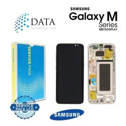 Samsung Galaxy M10s (SM-M107F) -LCD Display + Touch Screen Black GH82-19571A OR GH82-19572A OR GH82-21250A