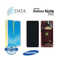 Samsung SM-N770 Galaxy Note 10 Lite -LCD Display + Touch Screen - Red - GH82-22055C OR GH82-22193C OR GH82-22194C