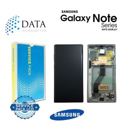 Samsung SM-N970 Galaxy Note 10 -LCD Display + Touch Screen - Aura Glow / Silver - GH82-20818C