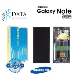 Samsung SM-N975 Galaxy Note 10+ / Note 10 Plus -LCD Display + Touch Screen - Red / Black (Star Wars) - GH82-21620A