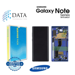 Samsung SM-N975 Galaxy Note 10+ / Note 10 Plus -LCD Display + Touch Screen - Aura Blue - GH82-20838D OR GH82-20900D