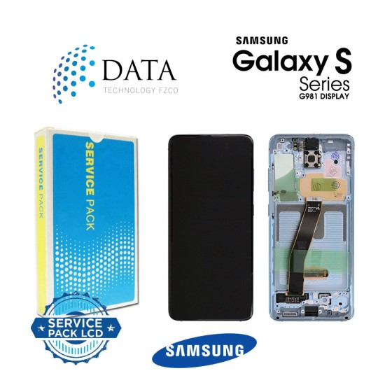 Samsung SM-G980 Galaxy S20 -LCD Display + Touch Screen - Blue - GH82-22131D OR GH82-22123D