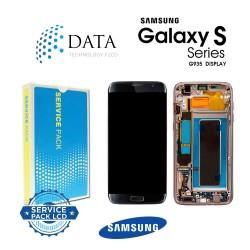 Samsung Galaxy S7 Edge (SM-G935F) -LCD Display + Touch Screen + Battery Black GH82-13388A