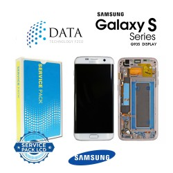 Samsung Galaxy S7 Edge (SM-G935F) -LCD Display + Touch Screen + Battery White+ Battery White GH82-13364A