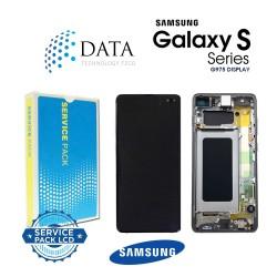 Samsung Galaxy S10 Plus (SM-G975F) -LCD Display + Touch Screen Prism Black / ceramic Black GH82-18849A