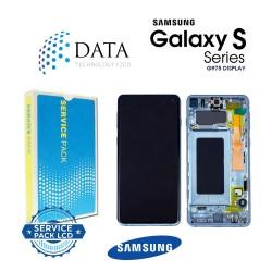 Samsung Galaxy S10 Plus (SM-G975F) -LCD Display + Touch Screen Prism Blue GH82-18849C