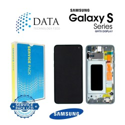 Samsung Galaxy S10 Plus (SM-G975F) -LCD Display + Touch Screen Prism Green GH82-18849E