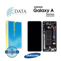 Samsung Galaxy A Qantum -LCD Display + Touch Screen Prism Crush Black