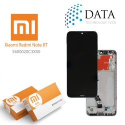 Xiaomi Redmi Note 8T -LCD Display + Touch Screen moonlight White 5600020C3X00