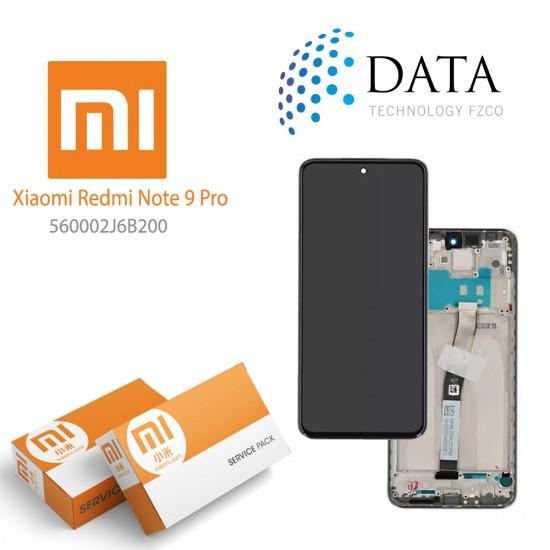 Xiaomi Redmi Note 9 Pro (M2003J6B2G) -LCD Display + Touch Screen glacier White 560002J6B200