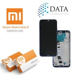 Xiaomi Redmi Note 8 (M1908C3JG) -LCD Display + Touch Screen neptune Blue 5600030C3J00