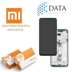 Xiaomi Redmi Note 8 Pro (M1906G7I M1906G7G) -LCD Display + Touch Screen Green 56000400G700