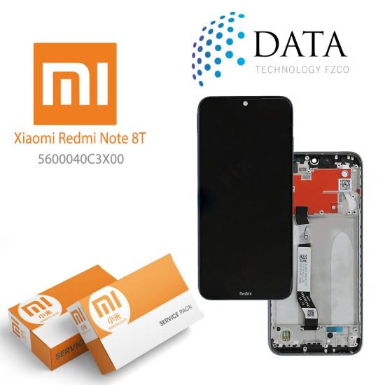 Xiaomi Redmi Note 8T -LCD Display + Touch Screen moonshadow Grey 5600040C3X00
