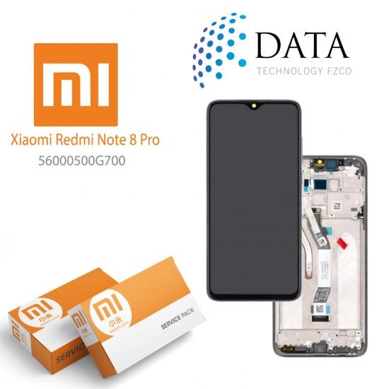 Xiaomi Redmi Note 8 Pro (M1906G7I M1906G7G) -LCD Display + Touch Screen Black 56000500G700