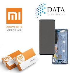Xiaomi Mi10 -LCD Display + Touch Screen gray (Service Pack) 560000500J200
