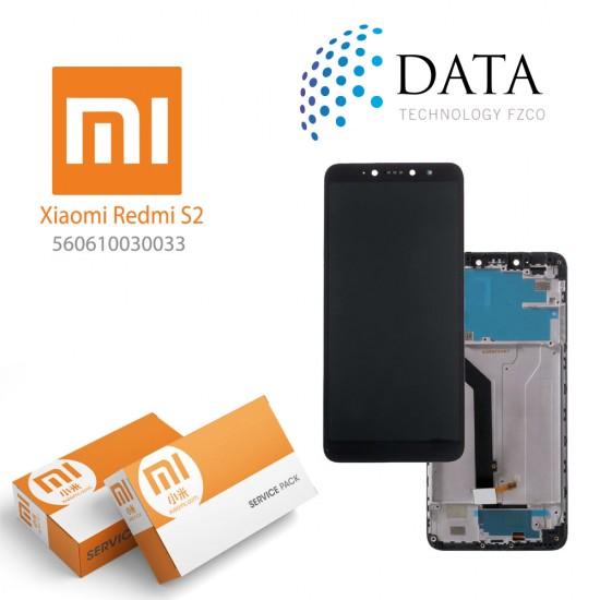 Xiaomi Redmi S2 (Redmi Y2) -LCD Display + Touch Screen Black (Service Pack) 560610030033