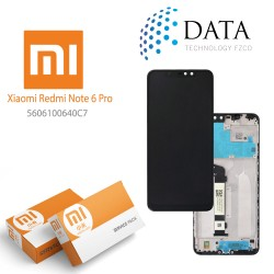 Xiaomi Redmi Note 7 -LCD Display + Touch Screen White (Service Pack) 5609100920C7