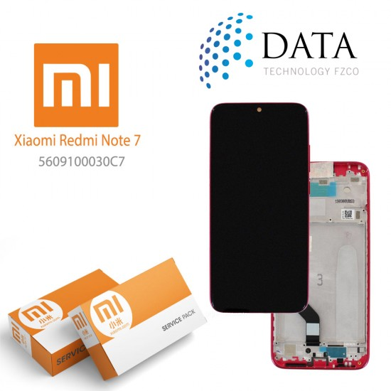 Xiaomi Redmi Note 7 -LCD Display + Touch Screen Twilight Gold (Service Pack) 5609100030C7