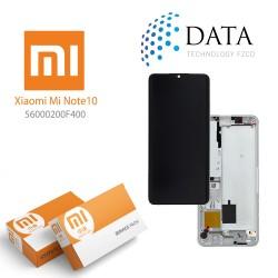 Xiaomi Mi Note 10 (M1910F4G) Mi Note 10 Pro (M1910F4S) -LCD Display + Touch Screen glacier White 56000200F400