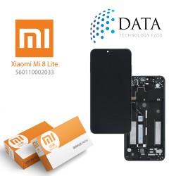 Xiaomi Mi 8 Lite, Mi 8X -LCD Display + Touch Screen Midnight Black (Service Pack) 560110002033