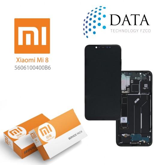 Xiaomi Mi 8 Pro -LCD Display + Touch Screen Deep Tarnish (Service Pack) 5601100040B6