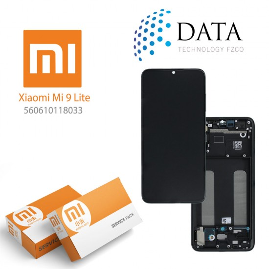 Xiaomi Mi 9 Lite -LCD Display + Touch Screen onyx Grey (Service Pack) 560610118033