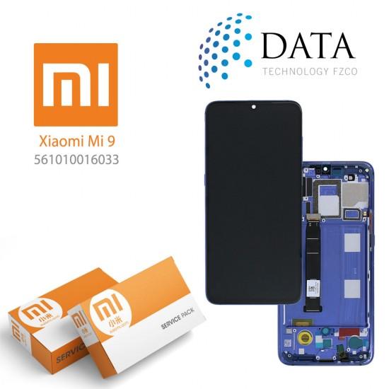 Xiaomi Mi 9 (M1902F1G) -LCD Display + Touch Screen Ocean Blue (Service Pack) 561010016033