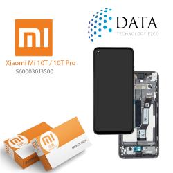 Xiaomi Mi10T / Mi 10T Pro -LCD Display + Touch Screen Cosmic Black 5600030J3S00