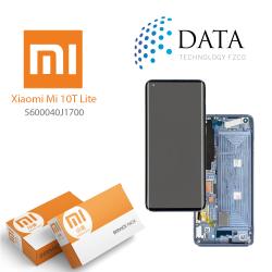 Xiaomi Mi10T Lite -LCD Display + Touch Screen Pearl Gray / Tarnish 5600040J1700