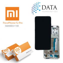 Xiaomi Poco F2 Pro -LCD Display + Touch Screen White (Service Pack) 56000E0J1100