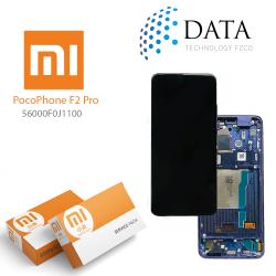 Xiaomi Poco F2 Pro -LCD Display + Touch Screen Purple (Service Pack) 56000F0J1100