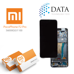 Xiaomi Poco F2 Pro -LCD Display + Touch Screen Black (Service Pack) 56000G0J1100