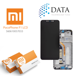 Xiaomi Pocophone F1 -LCD Display + Touch Screen (Service Pack) Black 560610057033