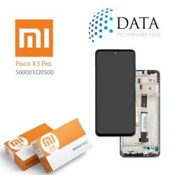 Xiaomi Poco X3 Pro -LCD Display + Touch Screen Blue 560003J20S00