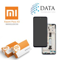 Xiaomi Poco X3 -LCD Display + Touch Screen Cobalt Blue 560002J20C00